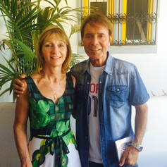 Lisa with Cliff Richard S